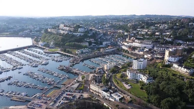 Devon is expected to see thousands of tourists this summer, with people staying in the UK for their holidays