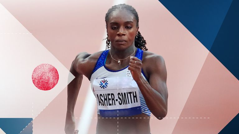 Dina Asher-Smith is among Team GB's star athletes