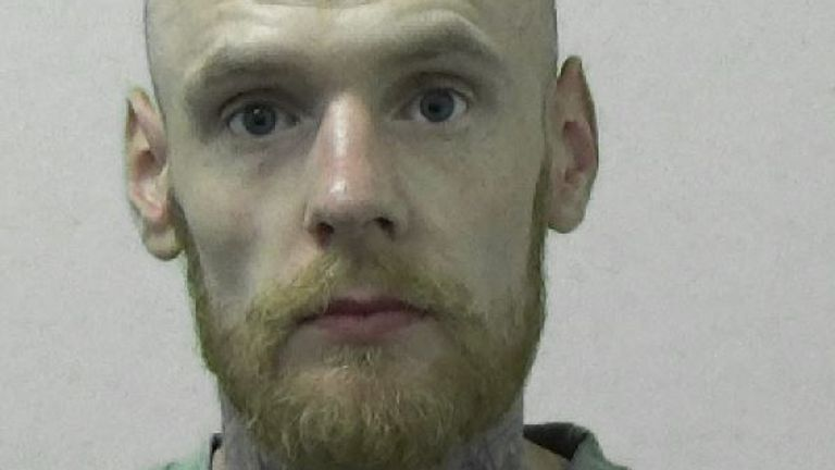Undated handout photo issued by Northumbria Police of Dominic Robson who has been jailed for more than five years at Newcastle Crown Court after he admitted the manslaughter of his brother Jordan Bell, 27. Issue date: Thursday July 8, 2021.