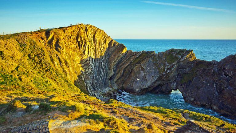 Stair Hole, near Lulworth Cove, Dorset