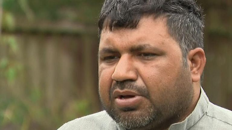 Father Waris Ali Loch Lomond speaks out about the tragic his wife, son and family friend   in Loch Lomond