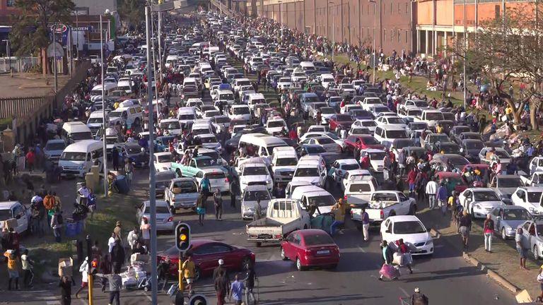 Looting in Durban
