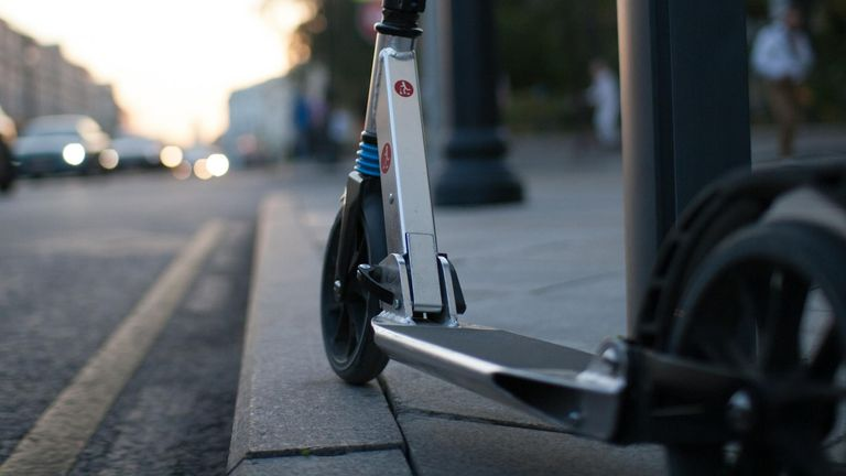 File pic of e-scooter
