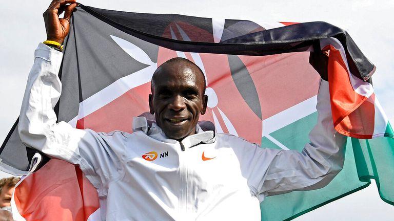 Eliud Kipchoge of Kenya. Pic: AP