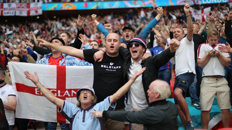 England fans will again flood into Wembley, dreaming of a place in Sunday's final