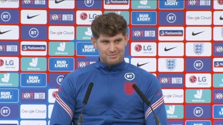 England defender John Stones said 'the support is deeply appreciated' as England prepare for the final at Wembley.