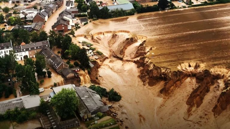Devastation after floods in Europe