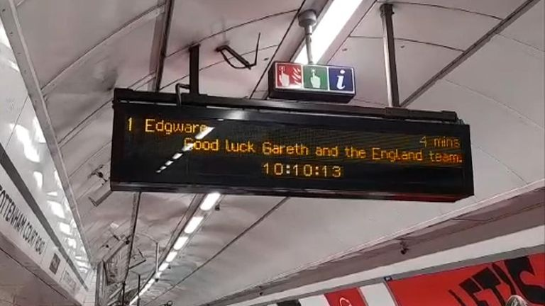 TFL roots for England team ahead of final