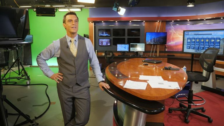 NBC Palm Springs (California) chief meteorologist Mike Everett