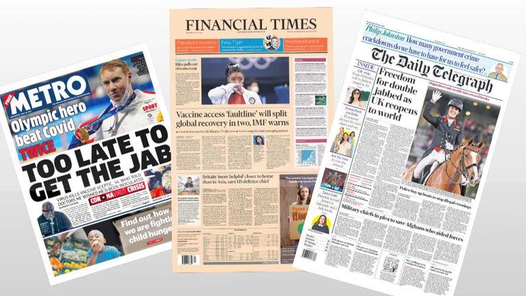 Papers fan 28/07
