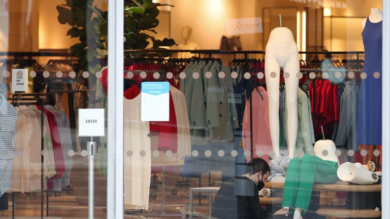 High street brands are not disclosing how many workers get living wages. File pic