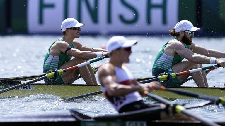 McCarthy and O'Donovan beat Germany by just 0.86 seconds