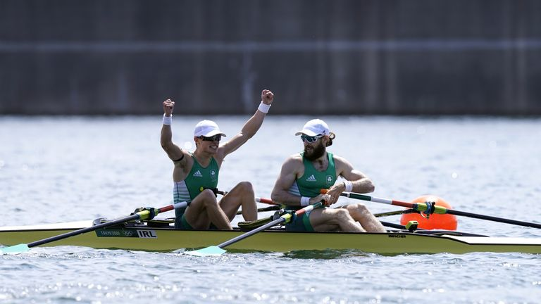 McCarthy and O'Donovan are the country's first male gold medallists since 1992