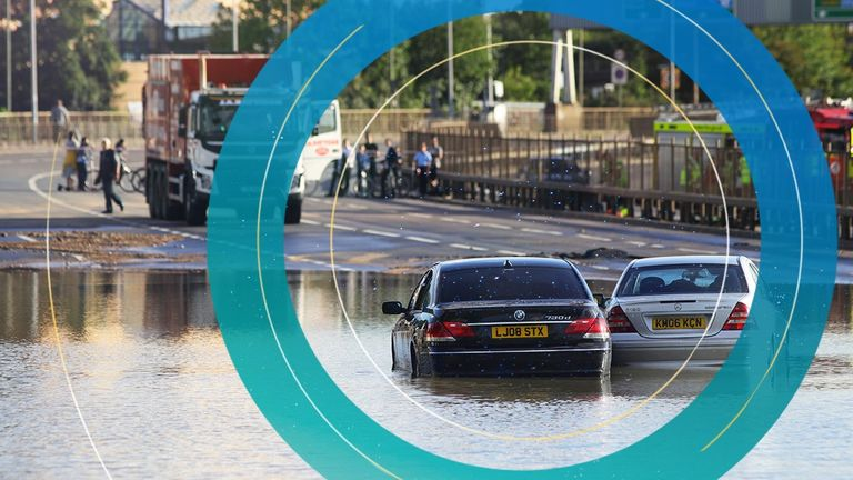 Flooding in London