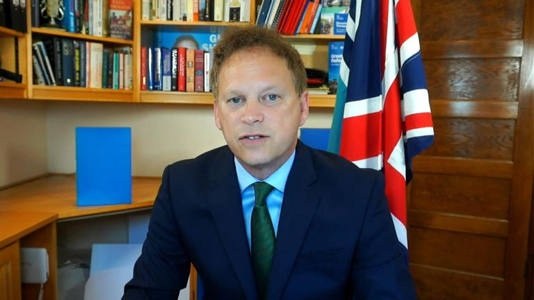 Grant Shapps discusses the decision to move France to amber plus status after French ministers accuse the UK of imposing 'excessive' quarantine rules on citizens.