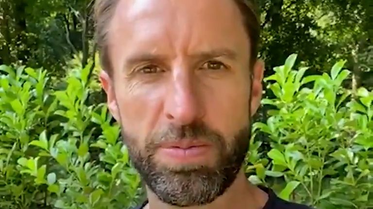 Gareth Southgate has encouraged young people to get their COVID-19 vaccines.