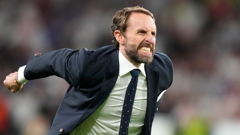 Gareth Southgate has captured the hearts of the nation during his second successful tournament with England