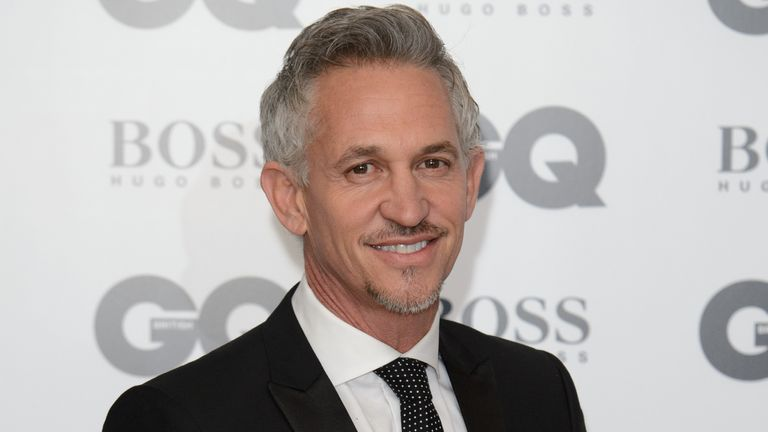Gary Lineker is the BBC's top earner. Pic: Jonathan Short/Invision/AP