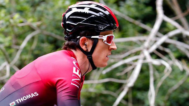 Geraint Thomas of Team Sky and Team GB. Pic: AP