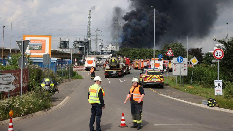 North Rhine-Westphalia, Leverkusen. Pic: Oliver Berg/picture-alliance/dpa/AP