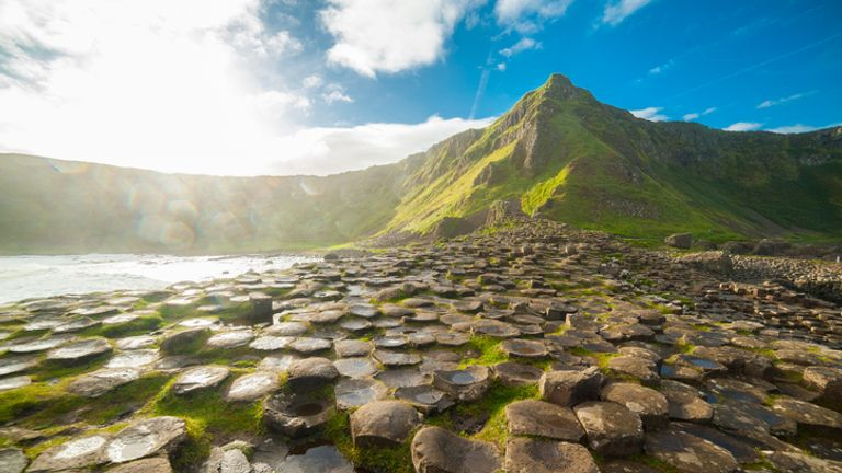 Giant's Causeway in County Antrim on the north coast of Northern Ireland. File pic