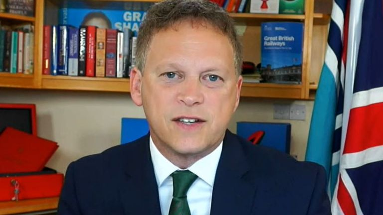 Grant Shapps finds criticism of Priti Patel over allegedly stoking racism to be odd