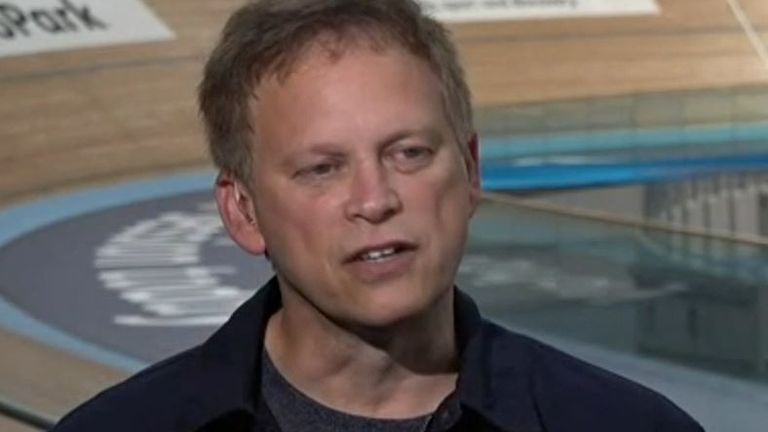 Grant Shapps pushes a 'positive' message about travel