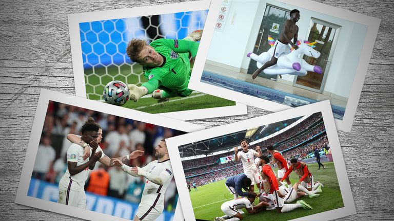 England's Euro 2020 journey was captured by their official photographer Eddie Keogh. Pics: Eddie Keogh/FA via Getty Images