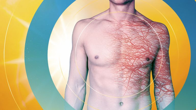 People can suffer heart attacks during hot weather due to dehydration and the body overheating