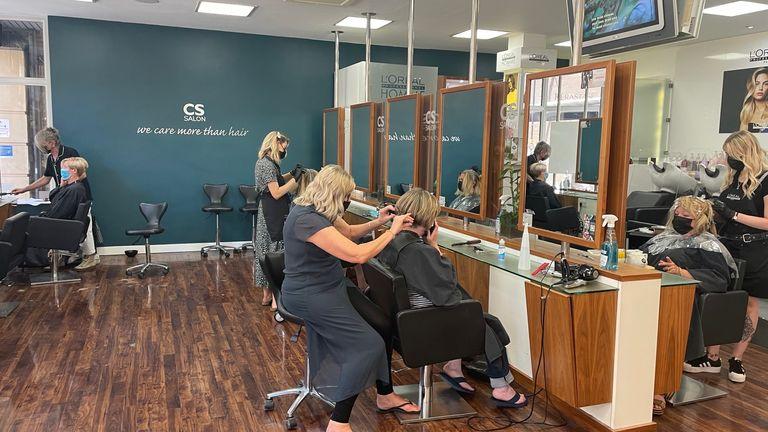 Central Salon hairdressers in Bristol
