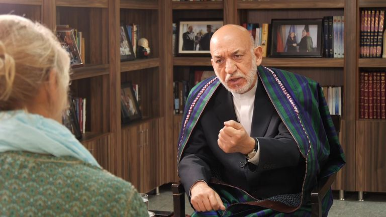 Mr Karzai became leader the same year the Taliban were  toppled from power in 2001
