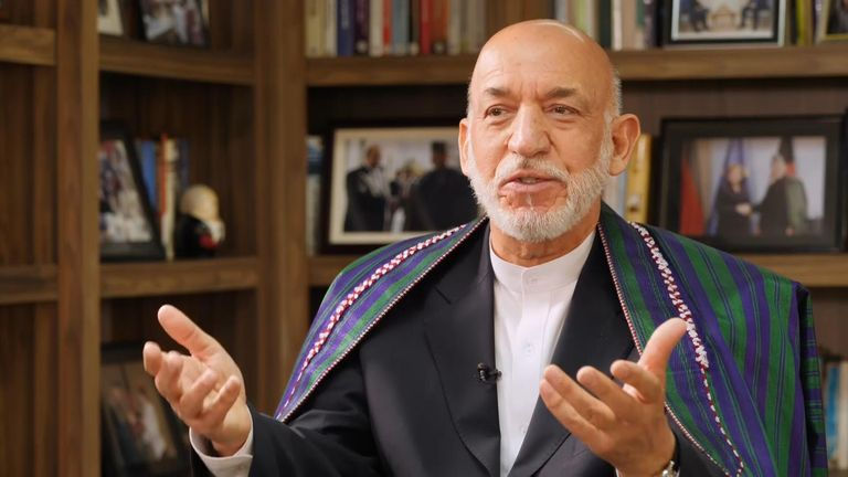 Mr Karzai said he felt disrespected by the US