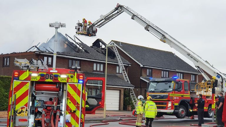 Pic: Hampshire and Isle of Wight Fire and Rescue Service
