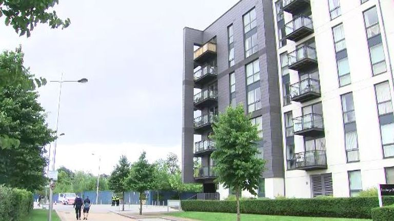 Residents of the eight-storey Hemisphere Apartments in Birmingham have been in limbo for 18 months due to fire risk concerns
