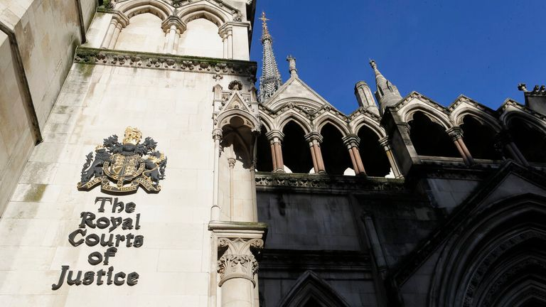 The judgement was made at the High Court in central London Pic: AP