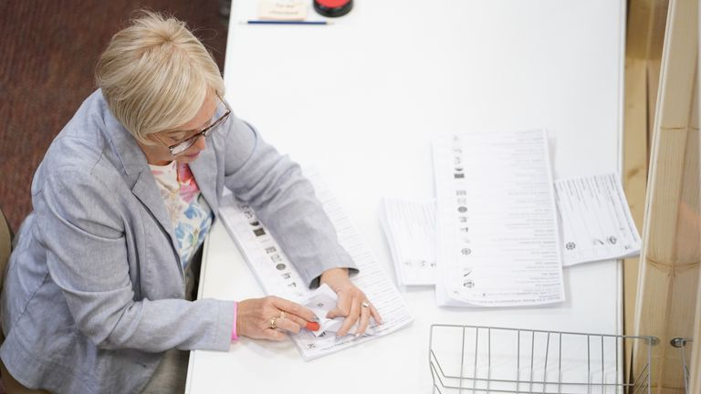 Votes were counted and re-counted overnight in Huddersfield