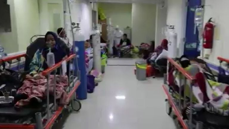 Hospitals have been overwhelmed