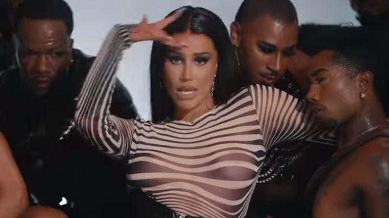 Iggy Azalea has been accused of 'blackfishing' in the video for her single, I Am The Stripclub. Pic: Iggy Azalea/YouTube