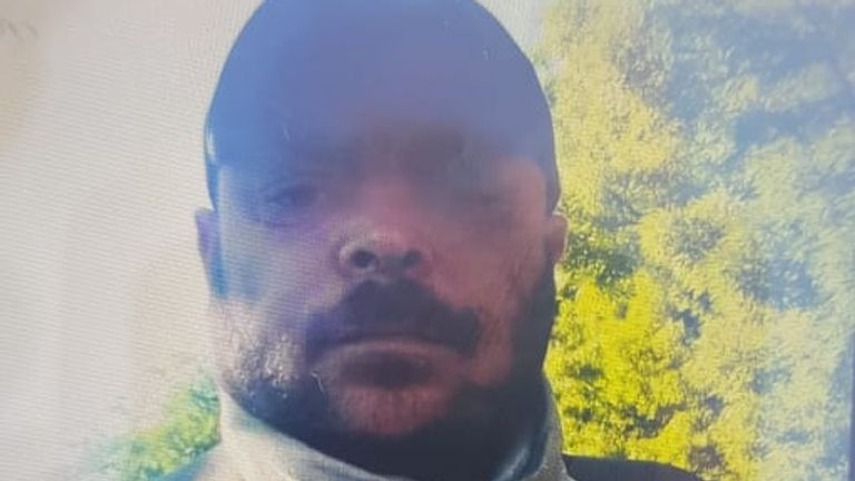 Ionut Manea, 38, had travelled to the UK from Romania. Pic: Met Police