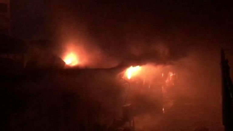 Officials say at least 50 people have died in the fire