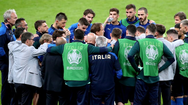 Italy, perhaps the stand-out team of the tournament, play Spain in the other Wembley semi-final