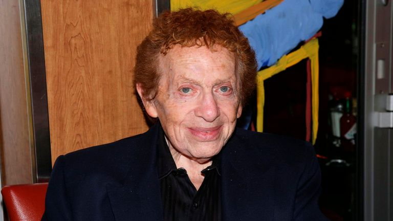 NEW YORK, NY- OCTOBER 12: Jackie Mason having dinner at the West Way Diner on October 12, 2015, in New York City. Credit: Joseph Marzullo/MediaPunch /IPX