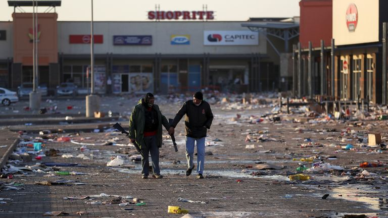Businesses have had their properties ransacked across the nation