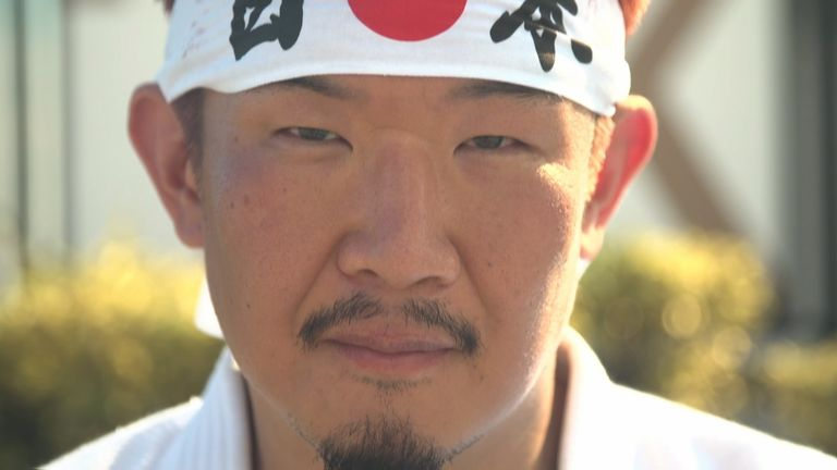 Kazunori Takishima dreamed of seeing the event live in his home city of Tokyo