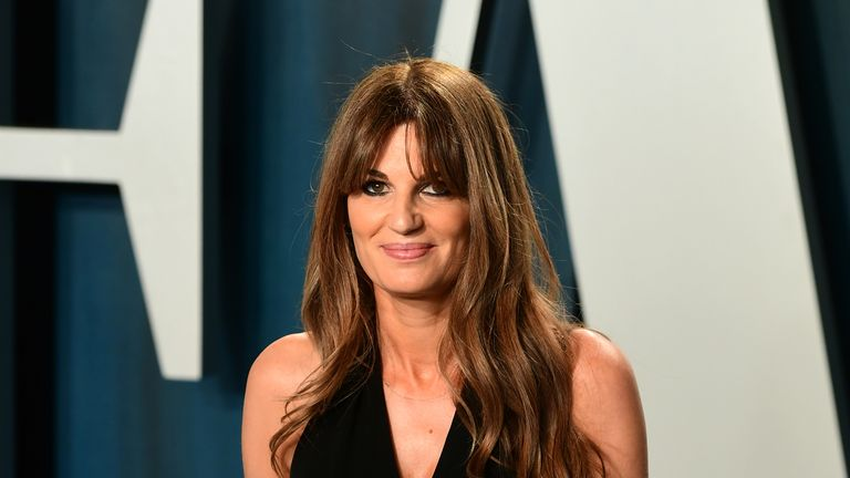 Jemima Goldsmith, a documentary producer, married former Pakistan cricket captain Imran Khan in 1995. Pic: Ian West/PA Archive/PA Images