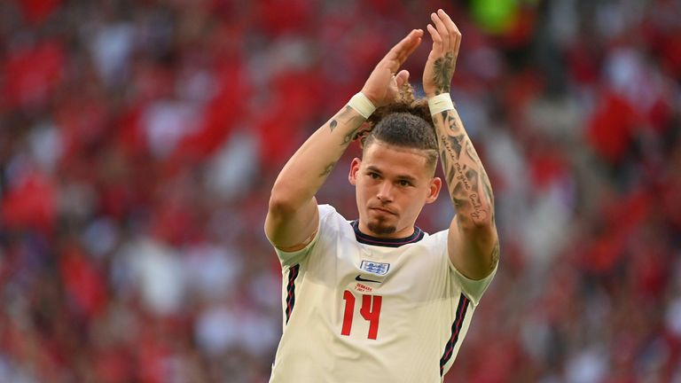 Kalvin Phillips has been impressive for England as they progressed through the tournament