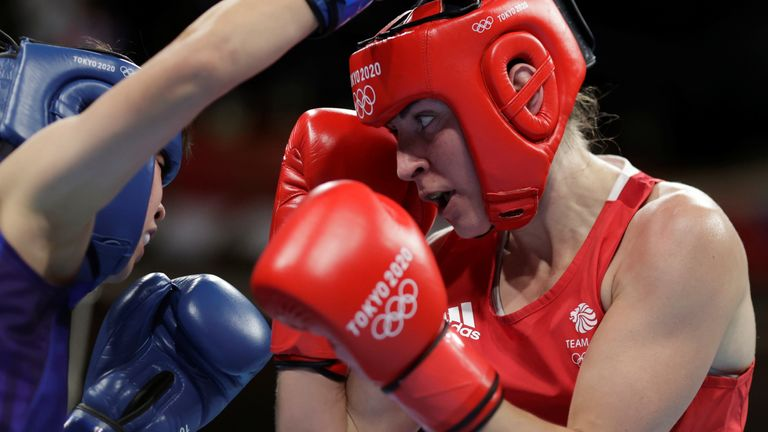 Karriss Artingstall - a serving soldier in the Army - won a bronze in the lightweight class
