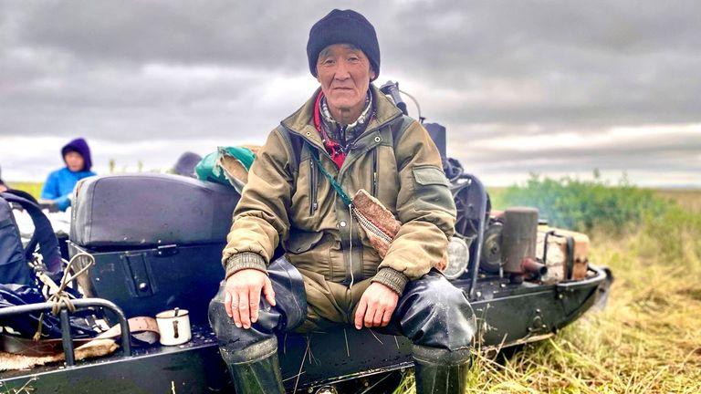 Slava Kemlil belongs to the Chukchi nation in Russia' Far East