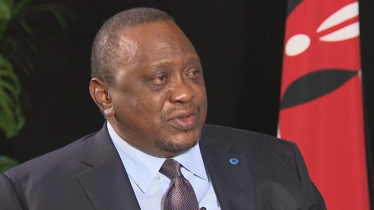 President of Kenya - Uhuru Kenyatta