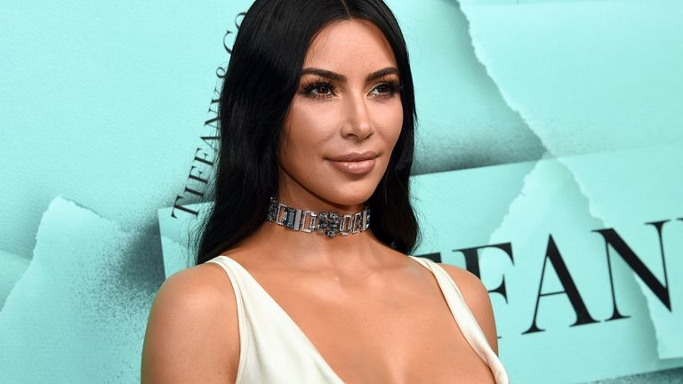 Kim Kardashian West attends the Tiffany & Co 2018 Blue Book Collection: The Four Seasons of Tiffany celebration in New York in 2018. Pic: Evan Agostini/Invision/AP